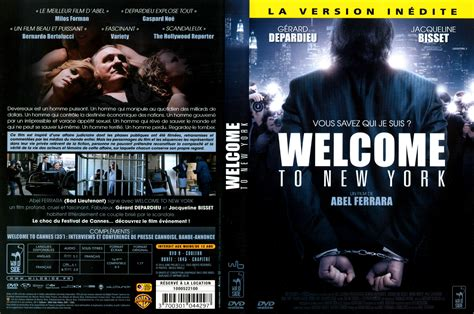 welcome cover jaquette dvd de welcome to new york cin 233 ma