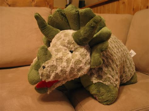 Dinosaur Pillow Pet by Pillow Pets Green Triceratops Large 18 Quot Other