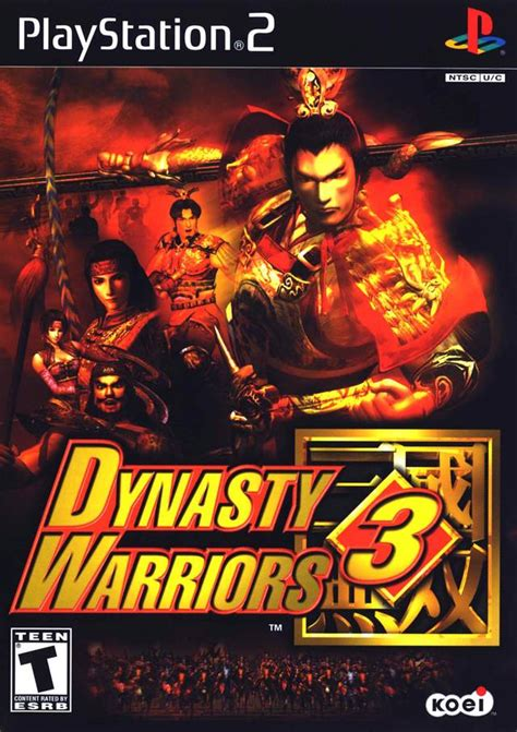 Cartridge Sony Psp Dynasty Wariors Original Dynasty Warriors 3 Sony Playstation 2