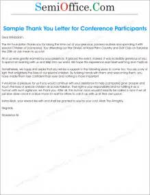 thank you letter sle for participants