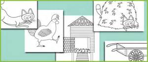 rosie walk colouring sheets free story resources free early amp primary teaching