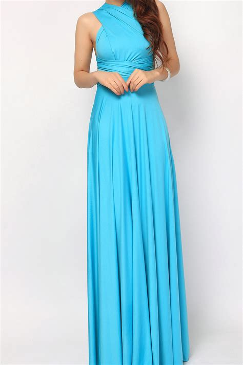 maxi infinity dress turquoise maxi convertible infinity dress bridesmaid dress