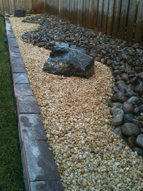 river rock landscaping cream stone and rock landscaping