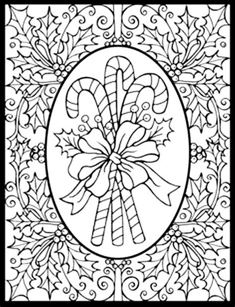 printable christmas adult coloring pages coloring pages printable christmas coloring pages for