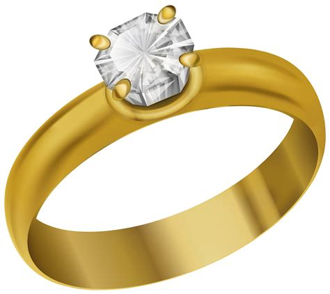 Wedding Ring Clipart Png by Ring Clipart Transparent Pencil And In Color Ring