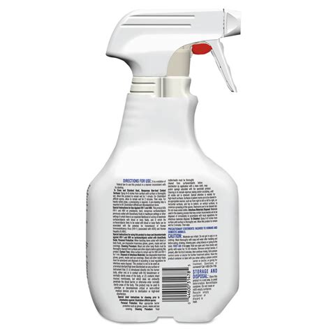 Antiseptic Liquid One Med Aseptic Gel Sanitizer 500 Ml 18 fuzion cleaner disinfectant by clorox 174 healthcare 174 clo31478 ontimesupplies