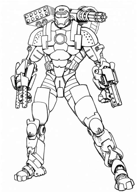 iron man coloring pages selfcoloringpages com