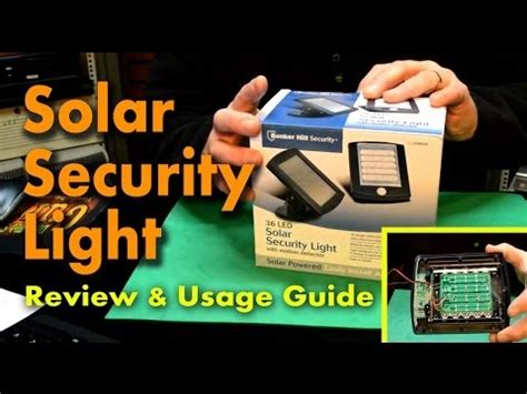 Harbor Freight 36 Led Solar Security Light Funnycat Tv Bunker Hill 36 Led Solar Security Light