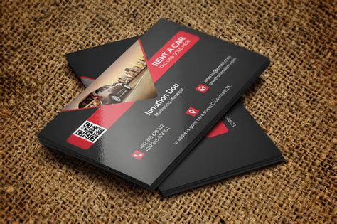 Rent A Car Business Card Template Free by Rent A Car Business Card Business Card Templates On