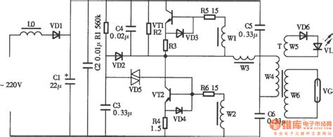 ozone generator circuit electrical equipment circuit