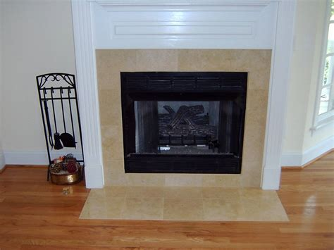 tiled fireplace surround fireplace surround