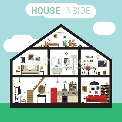 cm 1185931 house interior construction kit house inside interior vector art thinkstock