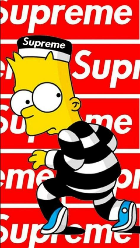 Supreme With Your supreme wallpapers to your cell phone bart