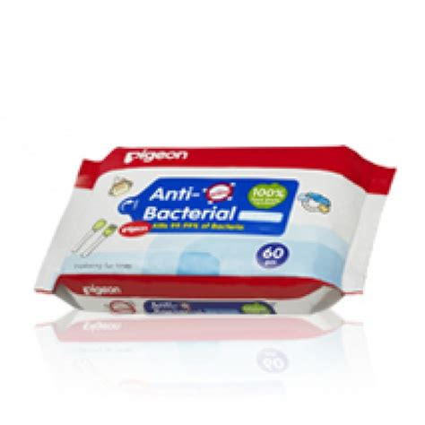 Pigeon Baby Wipes 20 S Pigeon Anti Bacterial Wipes 20 S
