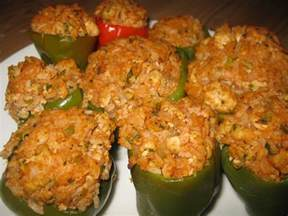 nana s recipe box stuffed bell peppers