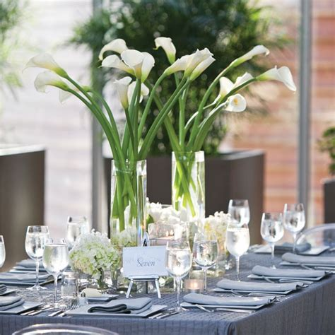 wedding centerpieces with calla lilies calla and hydrangea centerpiece