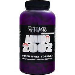 Sale Utimate Nutrition Amino 2002 330 Tabs Pembentukan Massa Otot ultimate nutrition amino 2002 whey formula on sale at allstarhealth