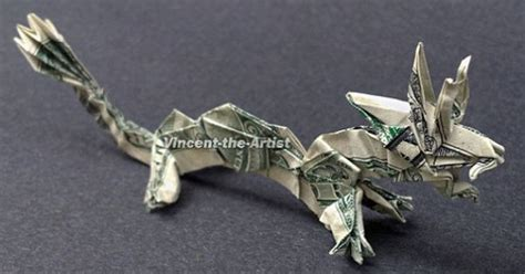 Frog Money Origami Animal Reptile Made Of Real Dollar Bills - money origami animal creature made of by