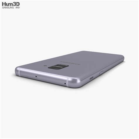 Samsung A8 2018 Orchid Gray samsung galaxy a8 2018 orchid grey 3d model hum3d