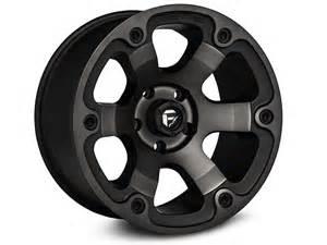 Best Truck Wheels Fuel Wheels Wrangler Tint Machined 6 Spoke Wheel
