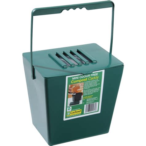 100 compost canister kitchen 2 n 1 apple green
