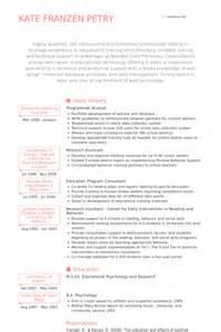 Programmer Analyst Resume Samples Visualcv Resume