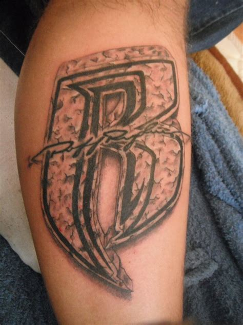 dmx tattoos ruff ryders logo pictures to pin on