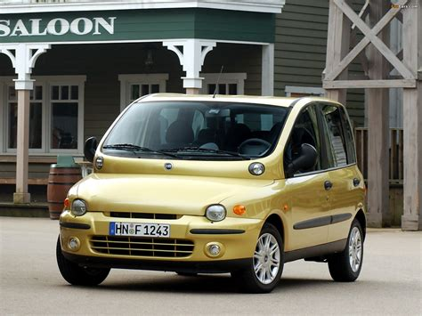 fiat multipla wallpaper fiat multipla 2002 04 wallpapers 1600x1200