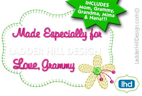 embroidery design label custom quilt label embroidery design bundle made especially