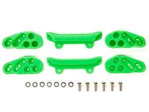 Tamiya 95052 Ma Fluorescent Color Chassis Set Green 四驅車配件 馬達 adjustable mass ders 2 5g weightsx6 gun metal