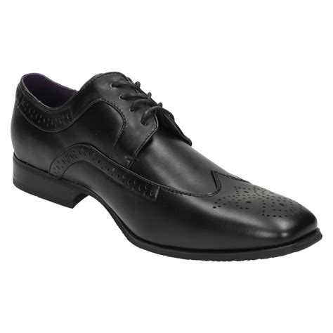 flat formal shoes for mens flat formal brogue shoes lace up