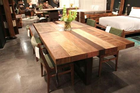 butcher block dining room table looks like a butcher block dining table for the home