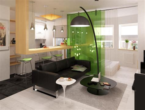 small studio apartment design modern black and white studio apartment with a touch of