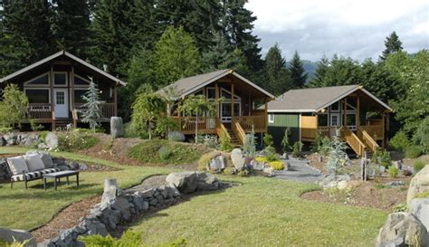 Cottages Of Columbia by Columbia River Gorge Luxury Cabins Bed And Breakfast