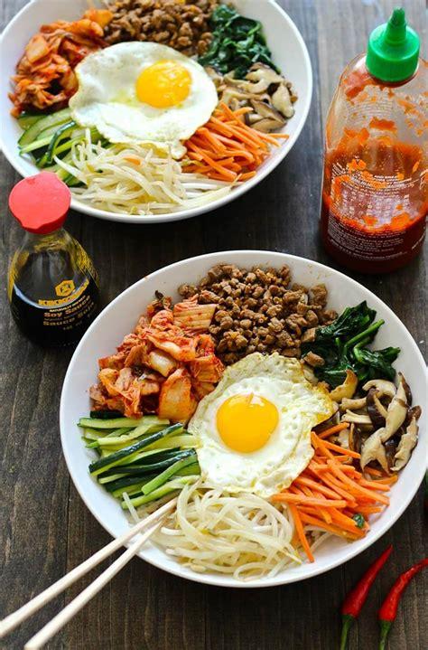 30 minute korean bibimbap recipe the girl on bloor