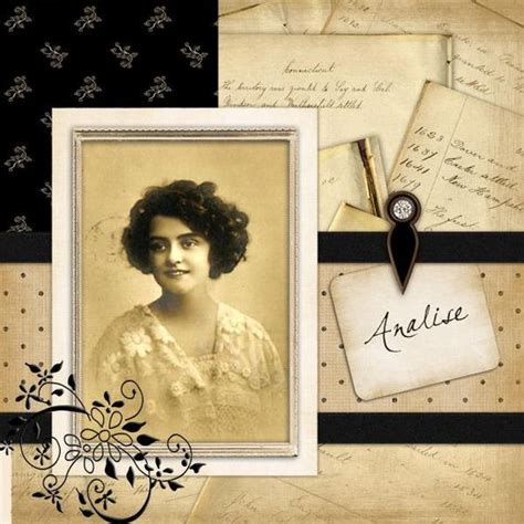 scrapbook layout vintage free vintage scrapbook layouts home gt gt katiemac s home