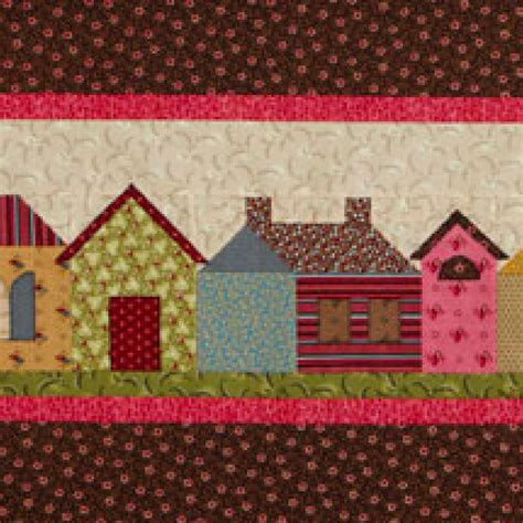 Row Quilt Patterns by Row Houses Wall Quilt Allpeoplequilt