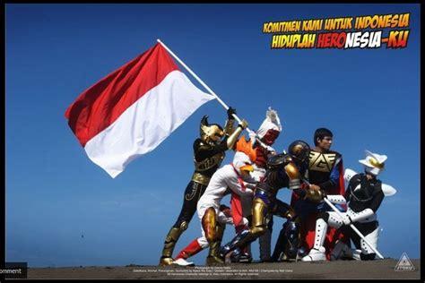 Vg Bintang Merah superheroes heronesia