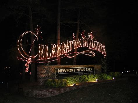 newport news lights celebration in lights at newport news park virginia s