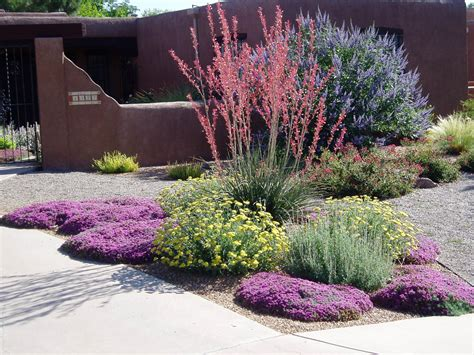 hunter s design in new mexico fine gardening