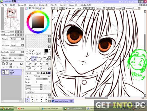 drawing program free paint tool sai free