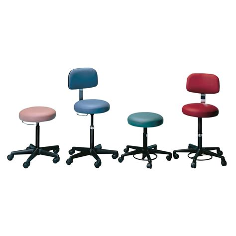 Hiv Stool Color by Air Lift Stool W50559 Hausmann 2113 Rolling Stools