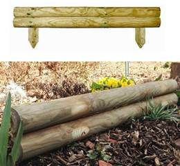 Planter With Trellis by Uk Garden Supplies 5 5 Quot Log Edging Horizontal Board
