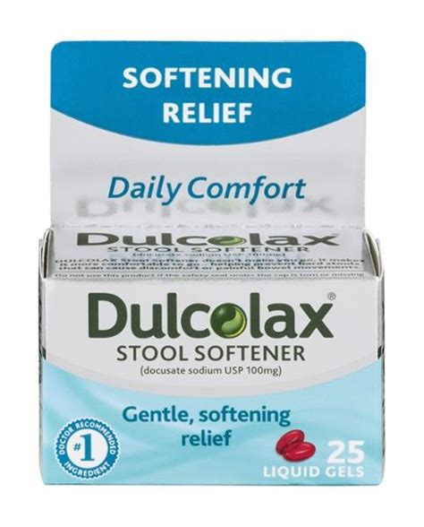 Dulcolax Stool Softener Tablets by Dulcolax Sugar Free Stool Softener Liquid Gels Hy Vee