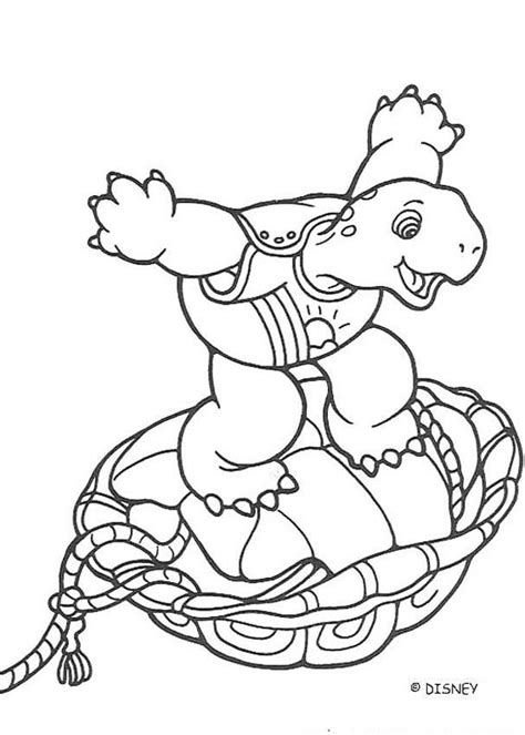 Crazy Franklin Coloring Pages Hellokids Com Franklin The Turtle Coloring Pages