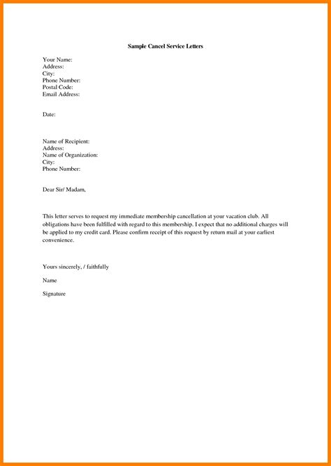 letter format of cancellation 10 union membership cancellation letter xavierax