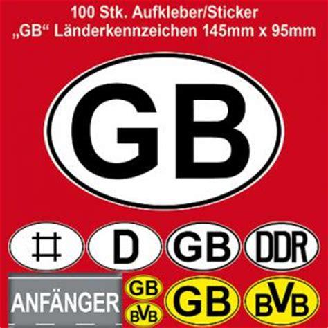 Auto L Nderkennzeichen by L 228 Nderkennzeichen G 252 Nstig Kaufen Bei Yatego