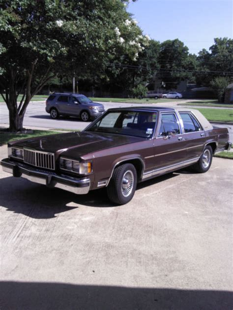 small engine maintenance and repair 1985 mercury marquis electronic valve timing luxury v8 quot panther quot platform shared with lincoln mark vi and ford ltd crown vic
