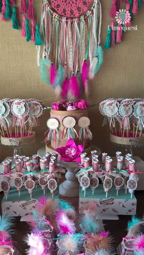 boho chic quinceanera party ideas photo    catch  party