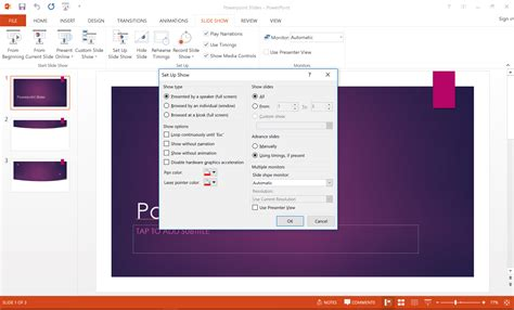 Setting A Powerpoint Slide Show To Loop Continuously Show Powerpoint Presentations